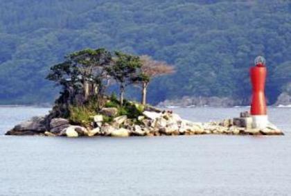 「ひょっこりひょうたん島」の見える場所