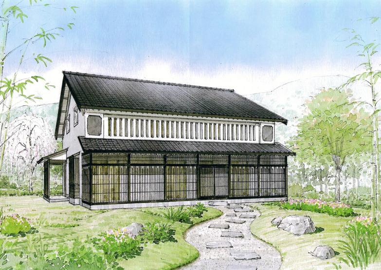 ジェイウッドで京都町家をつくる